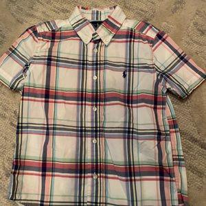 Short sleeve button down Ralph Lauren polos